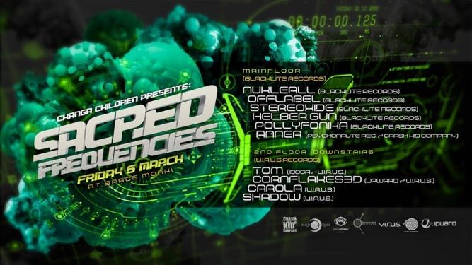 Sacred Frequencies SpaceMonki Club Zürich Biglietti