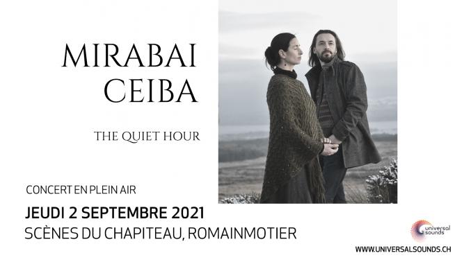 Mirabai Ceiba Scènes du Chapiteau Romainmôtier Billets