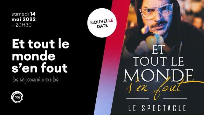 """""""Et tout le monde s'en fout"""" Théâtre de la Madeleine Genève Tickets"""