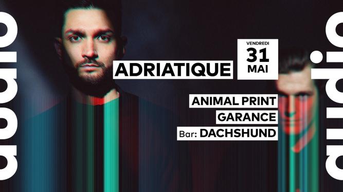 Adriatique Audio Club Genève Tickets