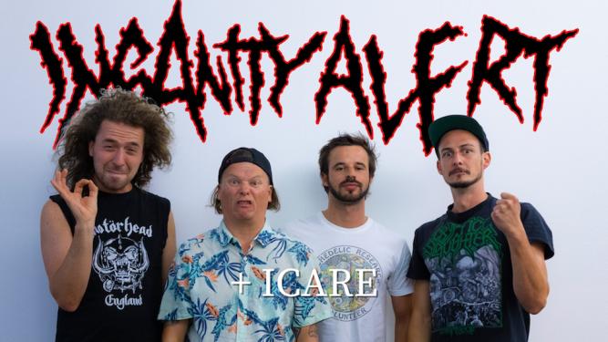 Insanity Alert (AT) + Icare (CH) Amalgame Yverdon-les-Bains Tickets