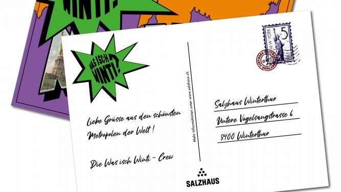 Was isch Winti? Salzhaus Winterthur Biglietti