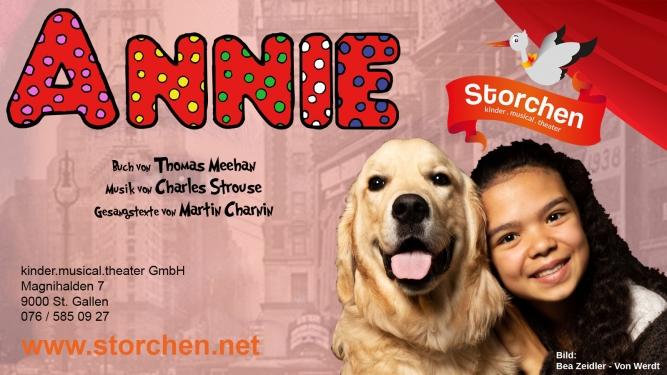 Annie in St.Gallen - Buy your tickets now!