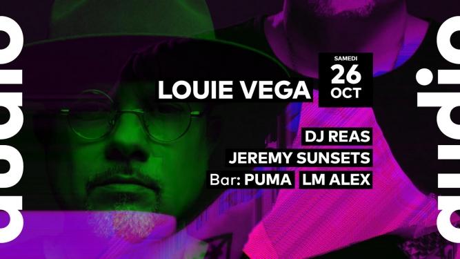Louie Vega - DJ Reas - Jeremy Sunsets - Puma - LM Alex Audio Club Genève Tickets