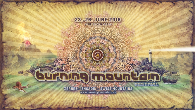 Burning Mountain Festival 2016 Festivalgelände Praschitsch Zernez Tickets