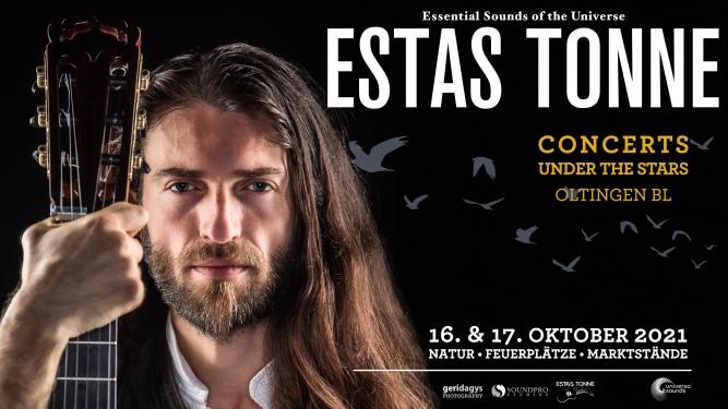 Estas Tonne - concerts under the stars Hof Wolfloch Oltingen Tickets