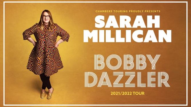 Sarah Millican: Bobby Dazzler Volkshaus Zürich Tickets