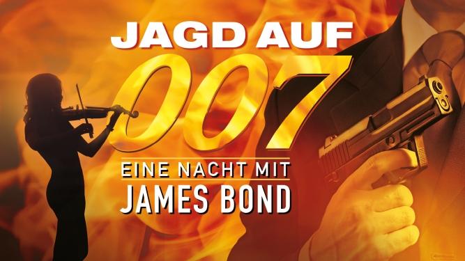 Jagd auf 007 - Eine Nacht mit James Bond KKL, Konzertsaal Luzern Billets