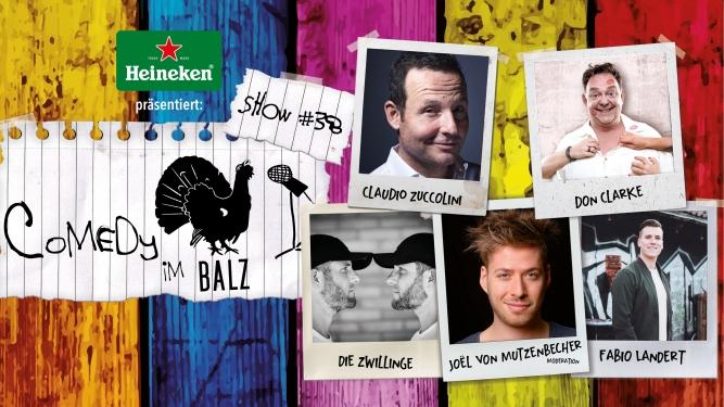 Comedy im Balz #38 Balz Klub Basel Biglietti