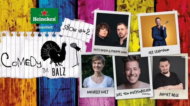 Comedy im Balz #42 Balz Klub Basel Tickets