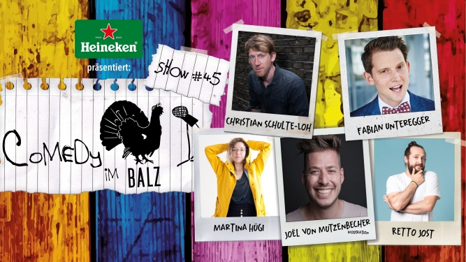 Comedy im Balz #45 Balz Klub Basel Tickets