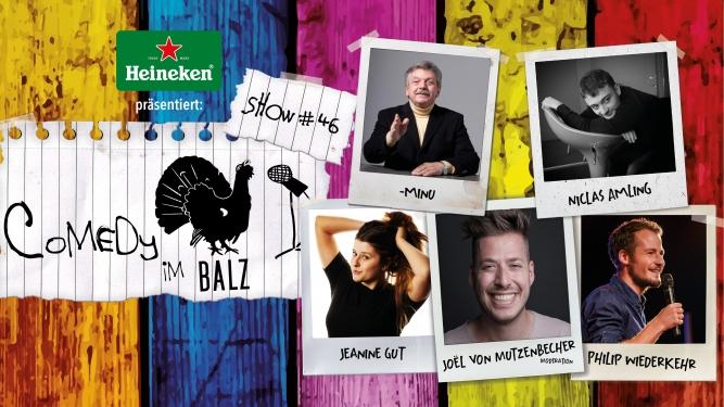Comedy im Balz #46 Balz Klub Basel Tickets