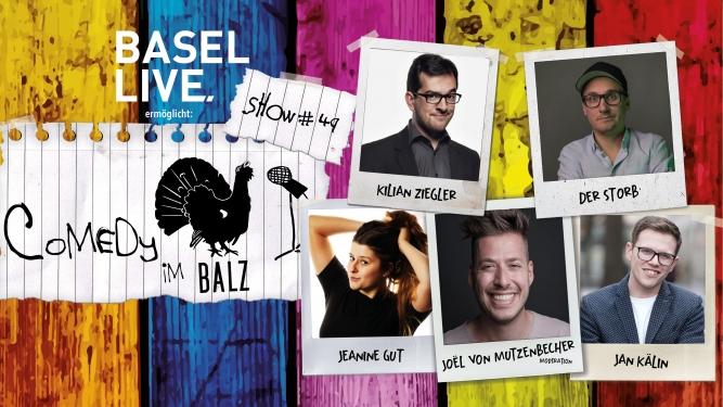 Comedy im Balz #49 Balz Klub Basel Tickets