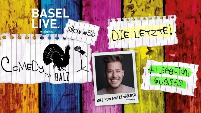 Comedy im Balz #50 Balz Klub Basel Tickets