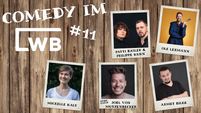Comedy im LWB #11 Löschwasserbecken Baden Tickets