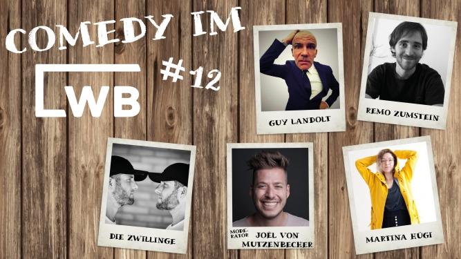 Comedy im LWB #12 Löschwasserbecken Baden Billets