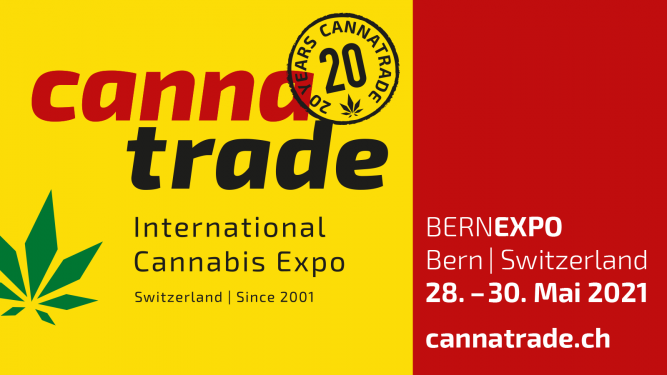 NEUES DATUM: CannaTrade 2021 - International Cannabis Expo - 3 Tagespass BERNEXPO Bern Tickets