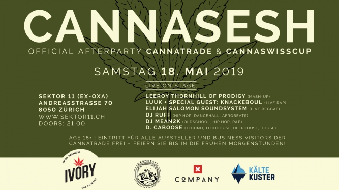 CannaSesh sektor11 (ex OXA) Zürich Tickets