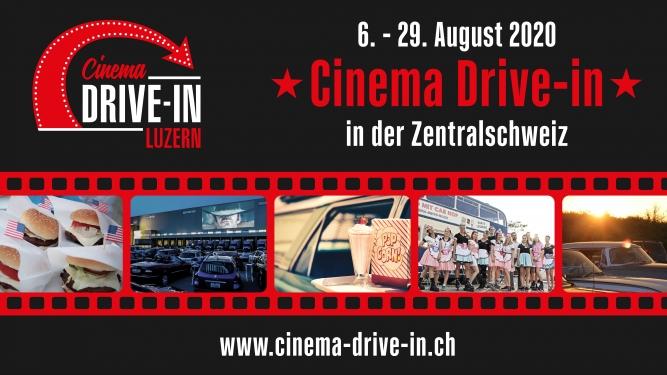 Autokino Cinema Drive-in Luzern 2020 Aeschbach Chocolatier AG Root-Luzern Tickets