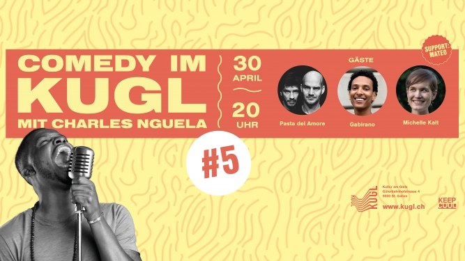 Comedy im KUGL #5 KUGL St.Gallen Biglietti
