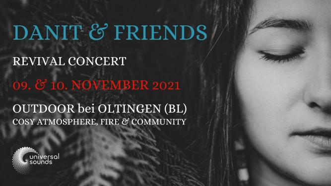 Danit & Friends - Revival Concert Hof Wolfloch Oltingen Billets