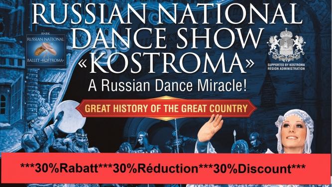 Russian National Dance Show Kostroma Diverses localités Divers lieux Billets