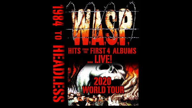 W.A.S.P. (US) Les Docks Lausanne Tickets