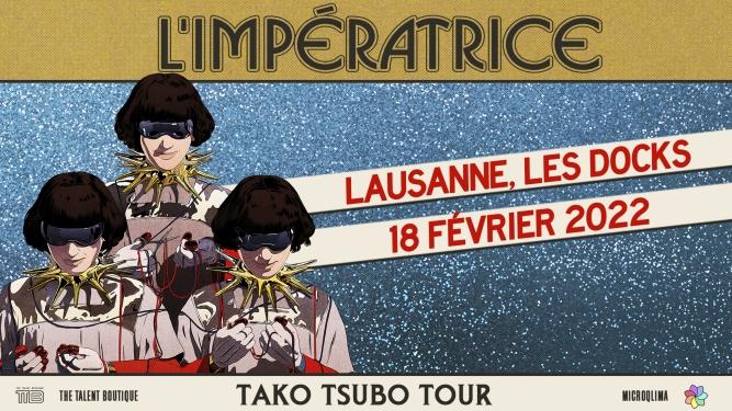 L'Impératrice (FR) Les Docks Lausanne Tickets