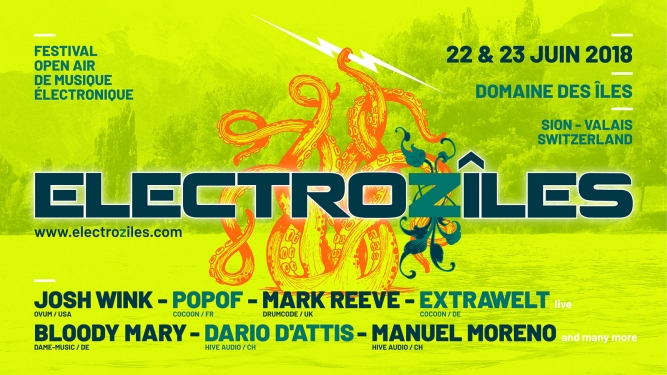 Electroziles Festival Domaine des Îles Sion Billets