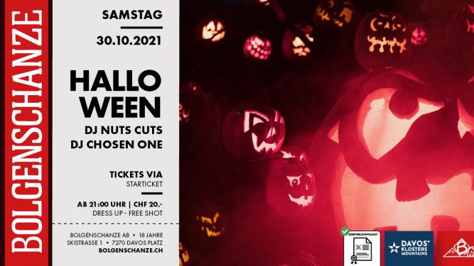 Halloween Party Bar Bolgenschanze Davos Tickets
