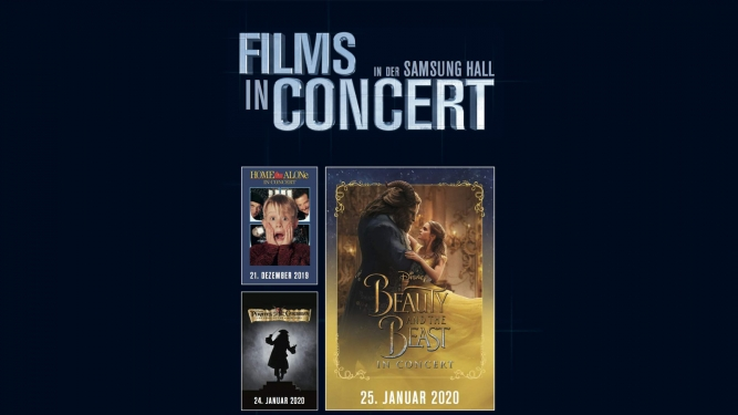 Films in Concert Samsung Hall Zürich Dübendorf Tickets