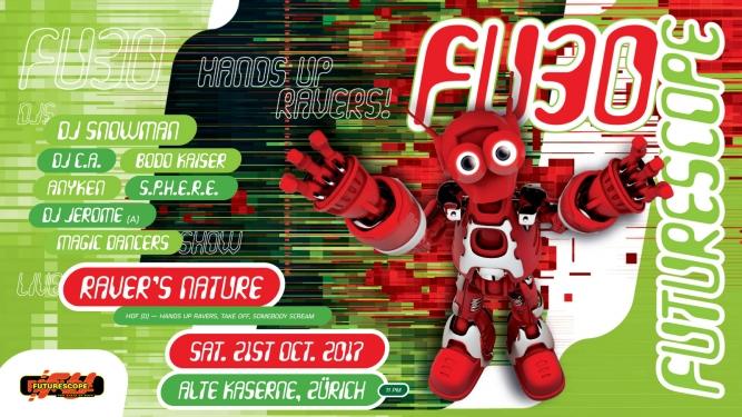 Futurescope FU 30 Alte Kaserne Zürich Tickets