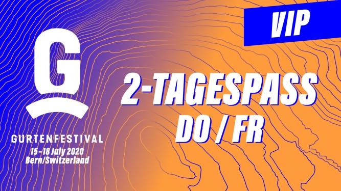 VIP - 2-Tagespass DO / FR Gurten Wabern-Bern Tickets