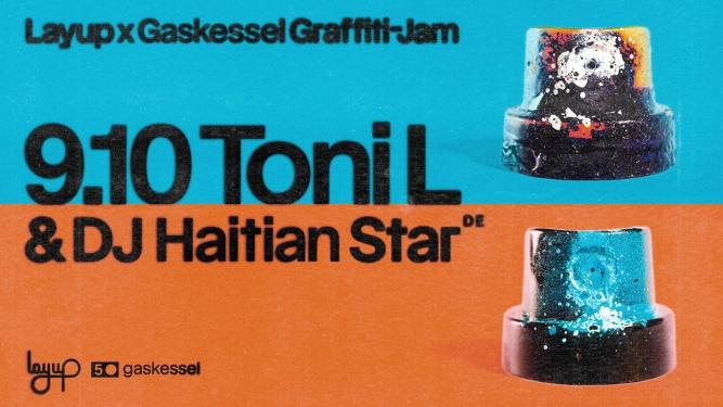 Layup x Gaskessel Graffiti Jam Gaskessel Bern Tickets