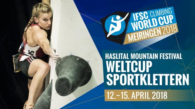 IFSC Climbing Worldcup Boulderarena, Kletterhalle Haslital Meiringen Tickets