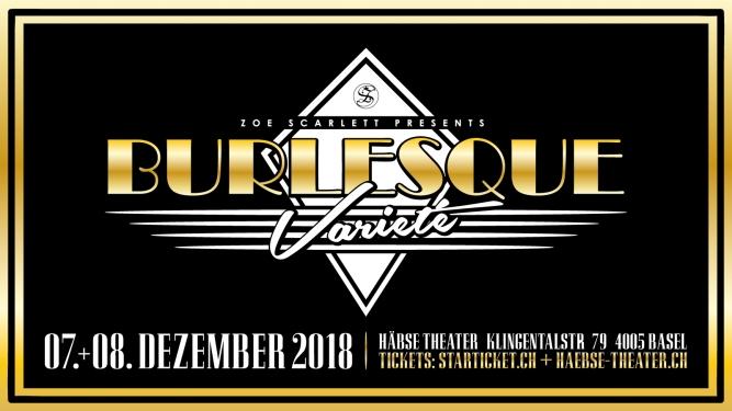 Burlesque Christmas Show 2018 Häbse-Theater Basel Biglietti