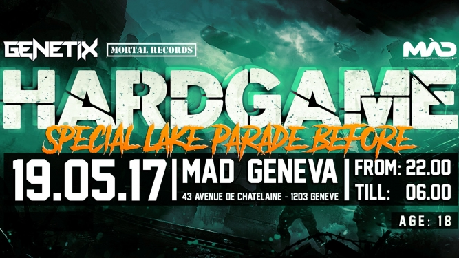 Hardgame MAD Genève Tickets