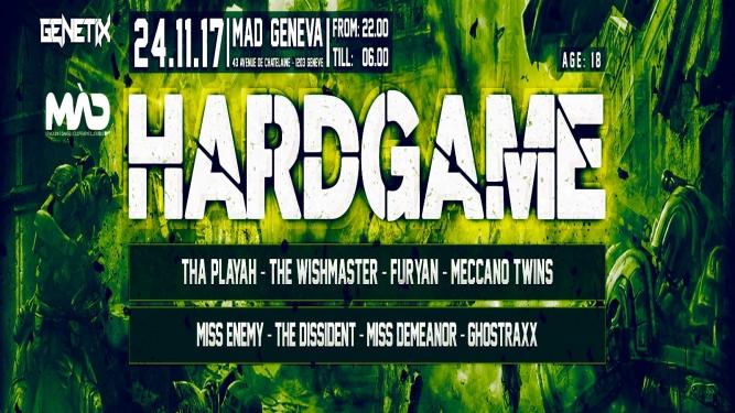 Hardgame MAD Genève Biglietti