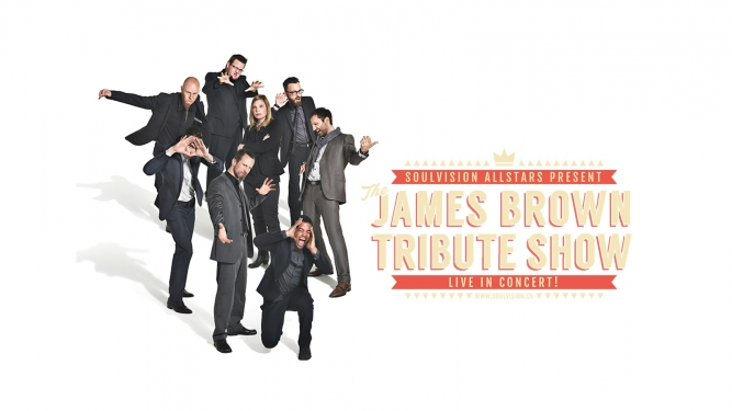 The James Brown Tribute Show Alte Kaserne Zürich Tickets