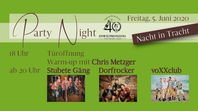 typisCHrächzer Festplatz Stockwiesen Thayngen Tickets