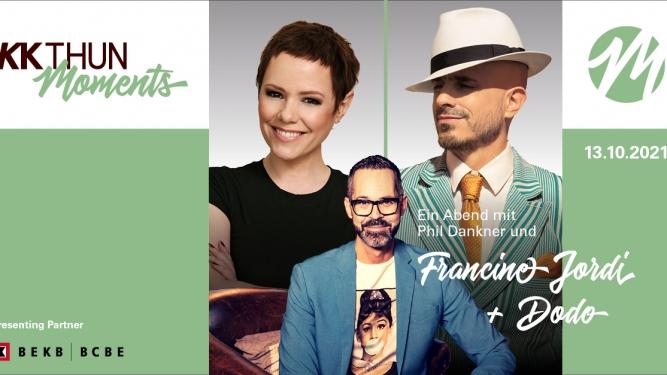Ein Abend mit Phil Dankner und Francine Jordi + Dodo Lachensaal (KKThun) Thun Tickets