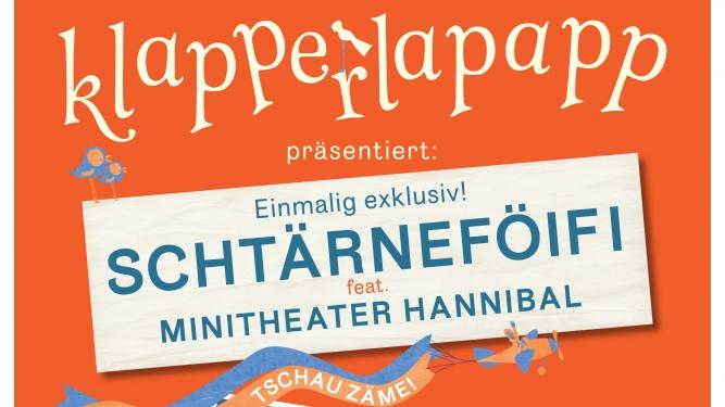"Schtärnefoifi feat. Minitheater Hannibal ""es war einmal..."" Volkshaus Zürich Tickets"