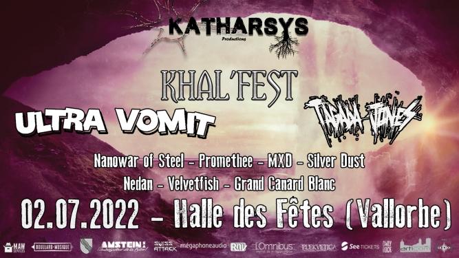Khal'fest Halle des Fêtes Vallorbe Billets