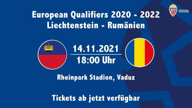 Liechtenstein - Rumänien Rheinpark Stadion Vaduz Tickets