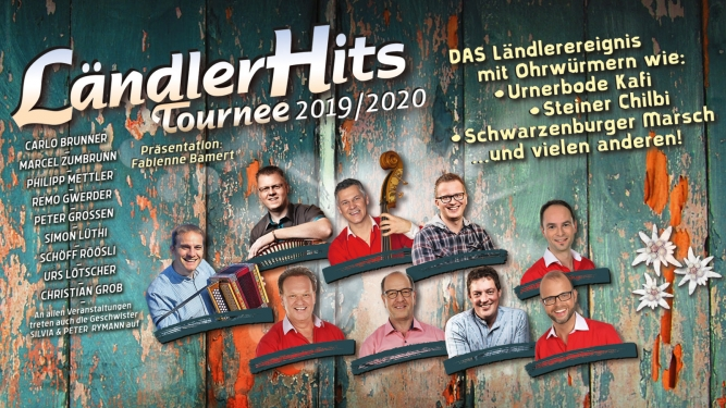 LändlerHits - Tournee DAS ZELT Zürich Biglietti