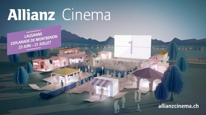 Allianz Cinema Lausanne Esplanade de Montbenon Lausanne Billets