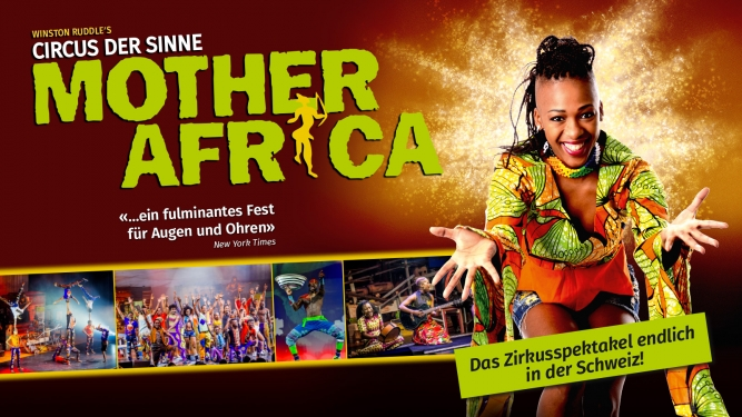 Mother Africa MAAG Halle Zürich Tickets