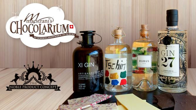 Schoggi-Gin-Degustation Maestrani's Chocolarium Flawil bei St. Gallen Biglietti