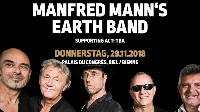 Manfred Mann's Earth Band Kongresshaus Biel Biglietti