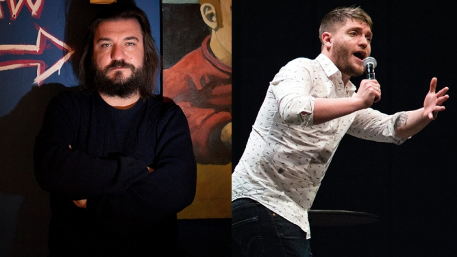 Funny Laundry with Matt Reed + Liam Withnail The Green Room Zürich Tickets
